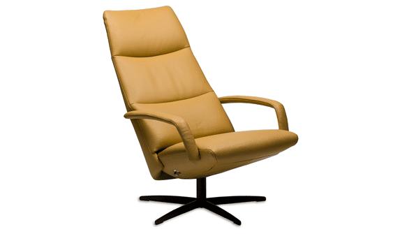 Relaxfauteuil Volo Donna, uit de fauteuil collectie van Gealux, oogstrelend modern design met een subliem zitcomfort - Löwik Meubelen