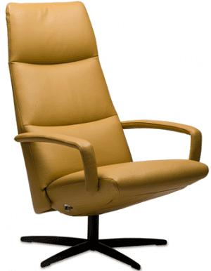 Relaxfauteuil Volo Donna, uit de fauteuil collectie van Gealux, oogstrelend modern design met een subliem zitcomfort
