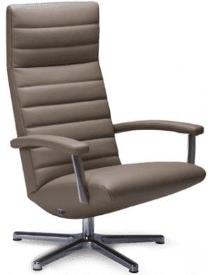 Relaxfauteuil Volo Mia, uit de fauteuil collectie van Gealux, oogstrelend modern design met een subliem zitcomfort