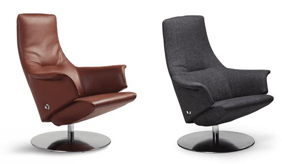 Relaxfauteuil Volo Oscar, uit de fauteuil collectie van Gealux, oogstrelend modern design met een subliem zitcomfort - Löwik Meubelen