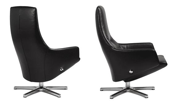 Relaxfauteuil Volo Pearl, uit de fauteuil collectie van Gealux, oogstrelend modern design met een subliem zitcomfort - Löwik Meubelen