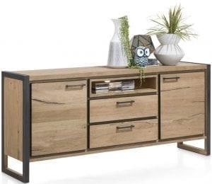 Metalo meubels Henders & Hazel, stoere meubelen vervaardigd uit eiken met metalen details