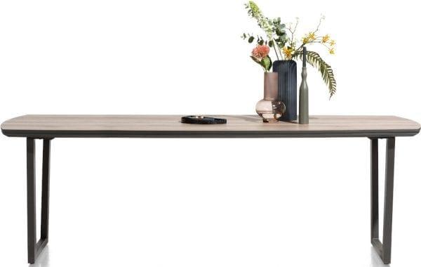 Copenhagen, eetkamertafel 240 x 98 cm. - v-poot COPENHAGEN DINTABLE 40614NAT Henders & Hazel Lowik Wonen & Slapen