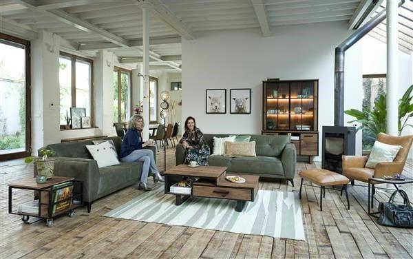 Chiara, lounge + pocketvering - leder Laredo CHIARA FAUTEUIL 36742OBL Henders & Hazel Lowik Wonen & Slapen
