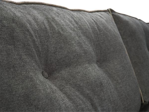 Orinio hoekbank in stof Mine liver - landelijk en stoer design van IN.House meubels