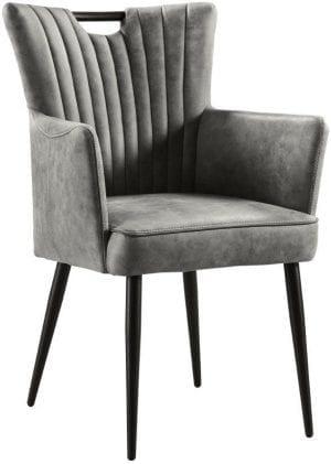 Armstoel Melano, vintage en retro stoel uit de INHouse eetkamerstoelen collectie