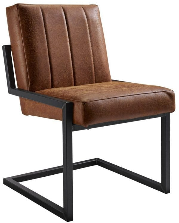 Contiro stoel, stoere industriele eetkamerstoel geheel naar wens samen te stellen - uit de IN-House eetstoelen collectie