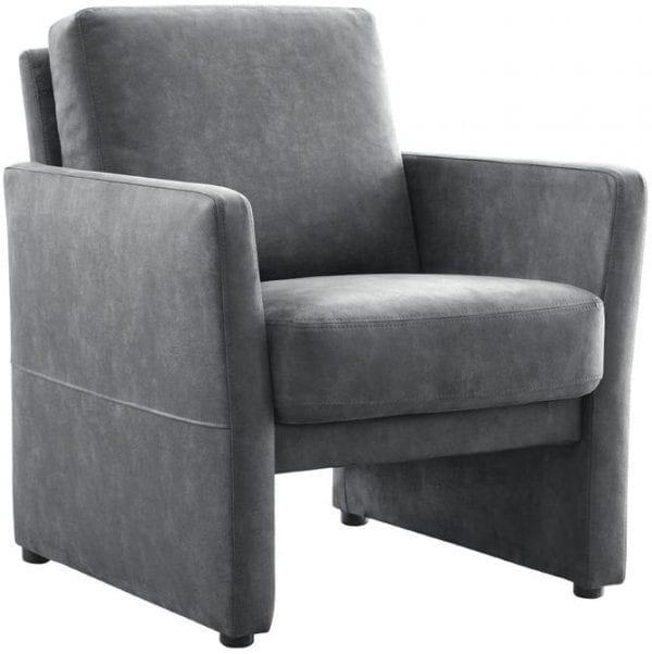 fauteuil alenta graphite Fauteuil IN.HOUSE Fauteuils Lowik Meubelen