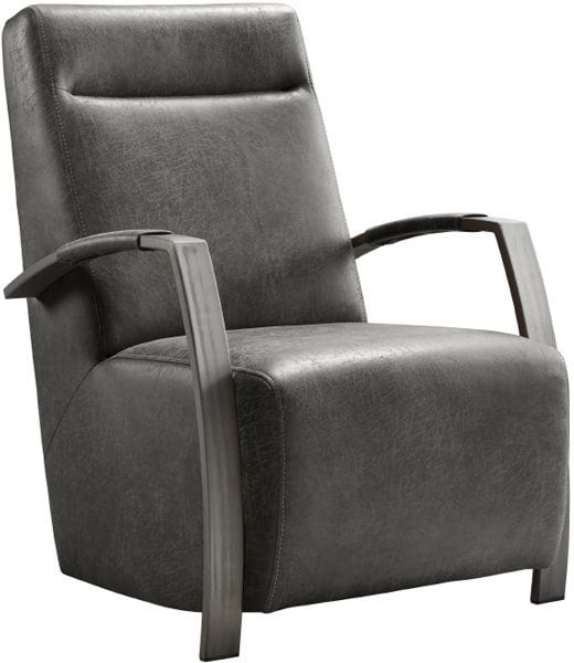 Fauteuil Caily, robuust design in microleder uit de IN-House collectie