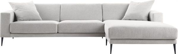 Barlio hoekbank van IN.House - uitgevoerd in stof Plain - Modern design uit de IN-House banken collectie