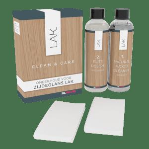 clean & care zijdeglans lak IN.HOUSE Onderhoud Lowik Meubelen