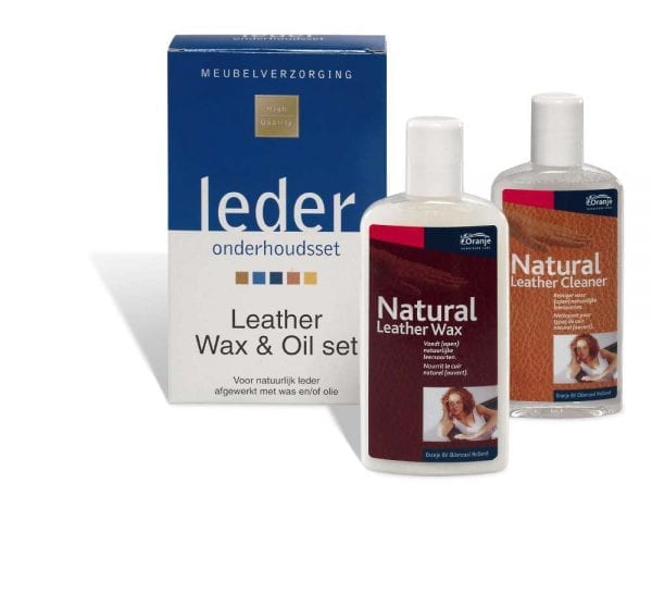 Leather wax & oil (2x 150 ml.)