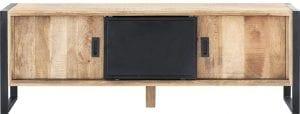 Slider TV-meubel van IN.House 1 deur, 1 schuifdeur, 2 open vak.