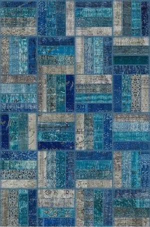 Vloerkleed Patch Collection - 15-010 Rotin - Handgeknoopt Patchwork-tapijt. Samenstelling: 50% wol + 50% katoen. Rug (gelijmd en genaaid): 100% katoen. Indien niet in voorraad is de levertijd circa 5 weken. Maatwerk mogelijk.