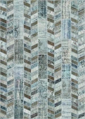 Vloerkleed Patch Collection - 18-009 Rivus - Handgeknoopt Patchwork-tapijt. Samenstelling: 50% wol + 50% katoen. Rug (gelijmd en genaaid): 100% katoen. Indien niet in voorraad is de levertijd circa 5 weken.
