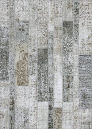 Vloerkleed Patch Collection - 2 - 003 Nieuw - Handgeknoopt Patchwork-tapijt. Samenstelling: 50% wol + 50% katoen. Rug (gelijmd en genaaid): 100% katoen. Indien niet in voorraad is de levertijd circa 5 weken. Maatwerk mogelijk.