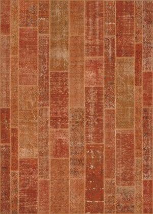 Vloerkleed Patch Collection - 2 - 004 Nieuw - Handgeknoopt Patchwork-tapijt. Samenstelling: 50% wol + 50% katoen. Rug (gelijmd en genaaid): 100% katoen. Indien niet in voorraad is de levertijd circa 5 weken. Maatwerk mogelijk.