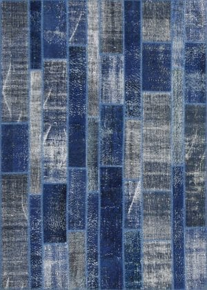 Vloerkleed Patch Collection - 2 - 012 Nieuw - Handgeknoopt Patchwork-tapijt. Samenstelling: 50% wol + 50% katoen. Rug (gelijmd en genaaid): 100% katoen. Indien niet in voorraad is de levertijd circa 5 weken. Maatwerk mogelijk.