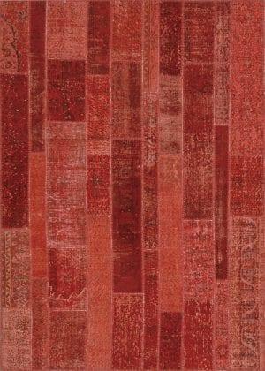 Vloerkleed Patch Collection - 2 - 013 Nieuw - Handgeknoopt Patchwork-tapijt. Samenstelling: 50% wol + 50% katoen. Rug (gelijmd en genaaid): 100% katoen. Indien niet in voorraad is de levertijd circa 5 weken. Maatwerk mogelijk.