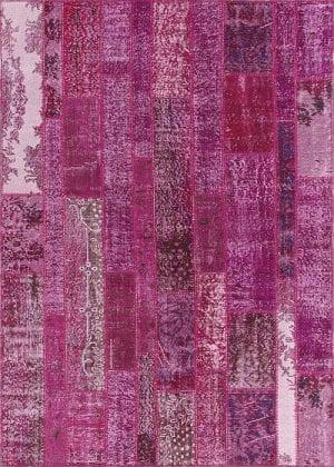 Vloerkleed Patch Collection - 2 - 015 Nieuw - Handgeknoopt Patchwork-tapijt. Samenstelling: 50% wol + 50% katoen. Rug (gelijmd en genaaid): 100% katoen. Indien niet in voorraad is de levertijd circa 5 weken. Maatwerk mogelijk.