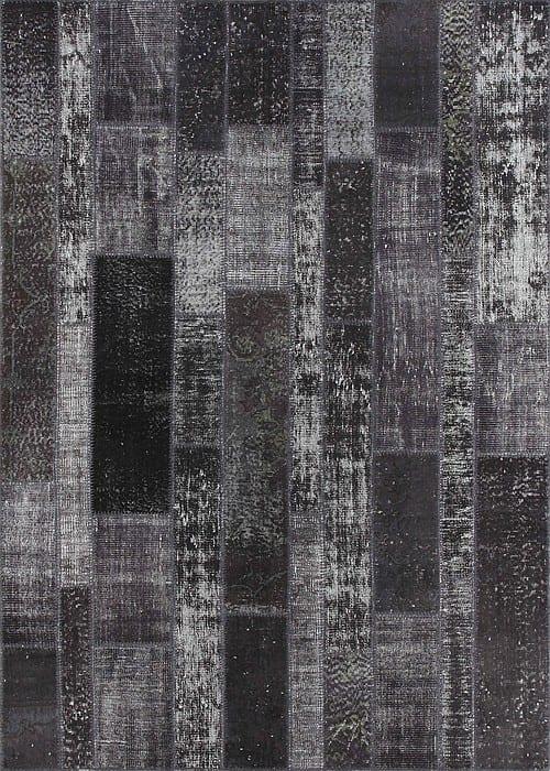 Vloerkleed Patch Collection - 2 - 016 Nieuw - Handgeknoopt Patchwork-tapijt. Samenstelling: 50% wol + 50% katoen. Rug (gelijmd en genaaid): 100% katoen. Indien niet in voorraad is de levertijd circa 5 weken. Maatwerk mogelijk.