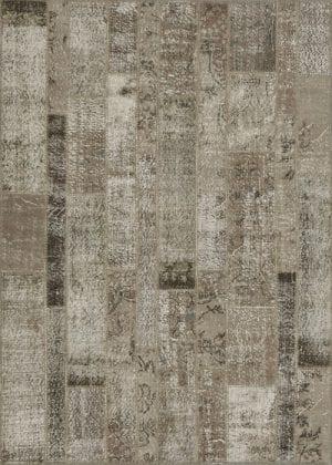 Vloerkleed Patch Collection - 2 - 019 Nieuw - Handgeknoopt Patchwork-tapijt. Samenstelling: 50% wol + 50% katoen. Rug (gelijmd en genaaid): 100% katoen. Indien niet in voorraad is de levertijd circa 5 weken. Maatwerk mogelijk.