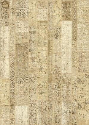 Vloerkleed Patch Collection - 2 - 021 Nieuw - Handgeknoopt Patchwork-tapijt. Samenstelling: 50% wol + 50% katoen. Rug (gelijmd en genaaid): 100% katoen. Indien niet in voorraad is de levertijd circa 5 weken. Maatwerk mogelijk.