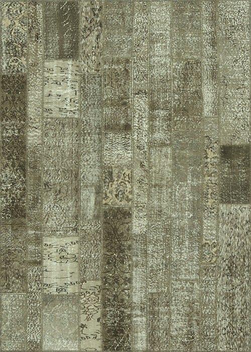 Vloerkleed Patch Collection - 2 - 023 Nieuw - handgeknoopt Patchwork-tapijt. Samenstelling: 50% wol + 50% katoen. Rug (gelijmd en genaaid): 100% katoen. Indien niet in voorraad is de levertijd circa 5 weken. Maatwerk mogelijk.