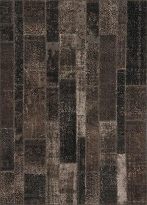 Vloerkleed Patch Collection - 2 - 024 Nieuw - Handgeknoopt Patchwork-tapijt. Samenstelling: 50% wol + 50% katoen. Rug (gelijmd en genaaid): 100% katoen. Indien niet in voorraad is de levertijd circa 5 weken. Maatwerk mogelijk.