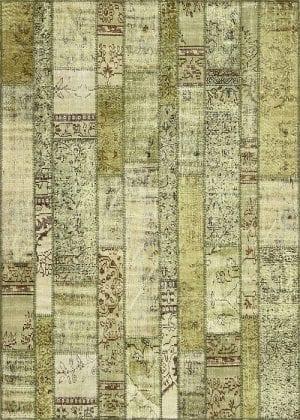 Vloerkleed Patch Collection - 2 - 032 Nieuw - handgeknoopt Patchwork-tapijt. Samenstelling: 50% wol + 50% katoen. Rug (gelijmd en genaaid): 100% katoen. Indien niet in voorraad is de levertijd circa 5 weken. Maatwerk mogelijk.
