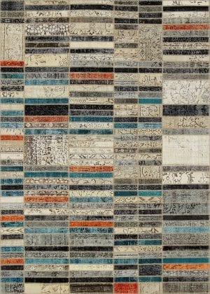 Vloerkleed Patch Collection - 20-003 Blend - Handgeknoopt Patchwork-tapijt. Samenstelling: 50% wol + 50% katoen. Rug (gelijmd en genaaid): 100% katoen. Indien niet in voorraad is de levertijd circa 5 weken. Maatwerk mogelijk.