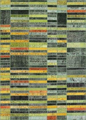 Vloerkleed Patch Collection - 20-005 Blend - Handgeknoopt Patchwork-tapijt. Samenstelling: 50% wol + 50% katoen. Rug (gelijmd en genaaid): 100% katoen. Indien niet in voorraad is de levertijd circa 5 weken. Maatwerk mogelijk.