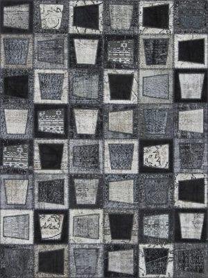 Vloerkleed Patch Collection - 3 - 609 Nieuw - Handgeknoopt Patchwork-tapijt. Samenstelling: 50% wol + 50% katoen. Rug (gelijmd en genaaid): 100% katoen. Indien niet in voorraad is de levertijd circa 5 weken. Maatwerk mogelijk.