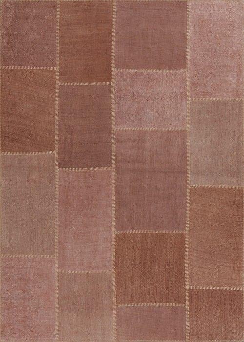Vloerkleed Patch Collection - 5 - 305 Nieuw - Handgeweven Patchwork-tapijt. Samenstelling: 100% hennep. Rug (gelijmd en genaaid): 100% katoen. Indien niet in voorraad is de levertijd circa 5 weken. Maatwerk mogelijk.