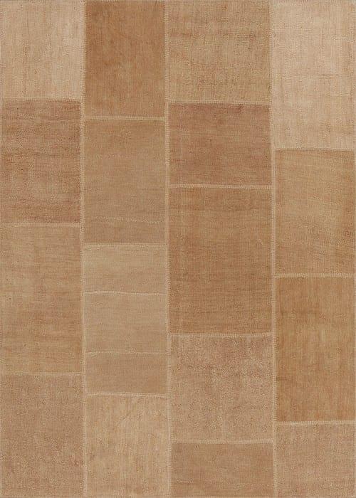 Vloerkleed Patch Collection - 5 - 307 Nieuw - Handgeweven Patchwork-tapijt. Samenstelling: 100% hennep. Rug (gelijmd en genaaid): 100% katoen. Indien niet in voorraad is de levertijd circa 5 weken. Maatwerk mogelijk.