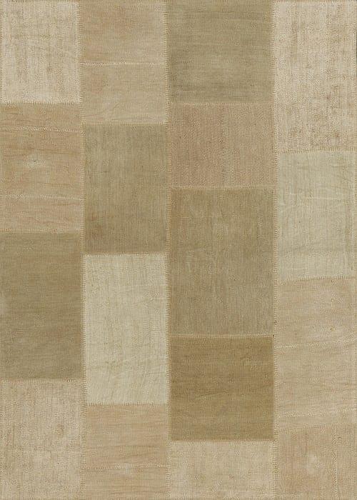 Vloerkleed Patch Collection - 5 - 314 Nieuw - Handgeweven Patchwork-tapijt. Samenstelling: 100% hennep. Rug (gelijmd en genaaid): 100% katoen. Indien niet in voorraad is de levertijd circa 5 weken. Maatwerk mogelijk.