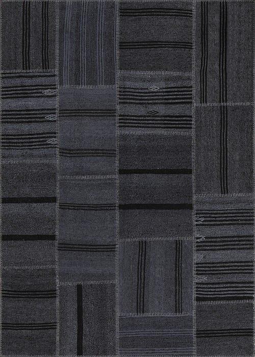 Vloerkleed Patch Collection - 6 - 303 Nieuw - Handgeweven Patchwork-tapijt. Samenstelling: 50% geiten wol + 50% katoen. Rug (gelijmd en genaaid): 100% katoen. Indien niet in voorraad is de levertijd circa 5 weken. Maatwerk mogelijk.