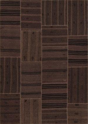 Vloerkleed Patch Collection - 6 - 304 Nieuw - Handgeweven Patchwork-tapijt. Samenstelling: 50% geiten wol + 50% katoen. Rug (gelijmd en genaaid): 100% katoen. Indien niet in voorraad is de levertijd circa 5 weken. Maatwerk mogelijk.