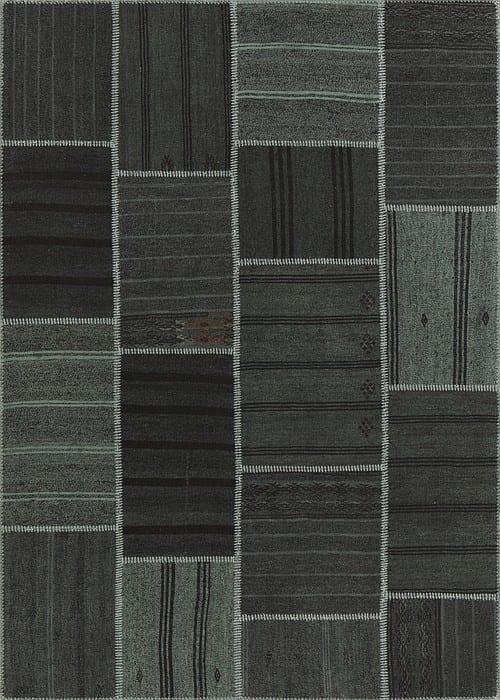 Vloerkleed Patch Collection - 6 - 309 Nieuw - Handgeweven Patchwork-tapijt. Samenstelling: 50% geiten wol + 50% katoen. Rug (gelijmd en genaaid): 100% katoen. Indien niet in voorraad is de levertijd circa 5 weken. Maatwerk mogelijk.