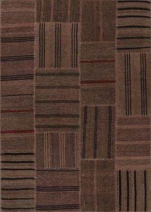 Vloerkleed Patch Collection - 6 - 312 Nieuw - Handgeweven Patchwork-tapijt. Samenstelling: 50% geiten wol + 50% katoen. Rug (gelijmd en genaaid): 100% katoen. Indien niet in voorraad is de levertijd circa 5 weken. Maatwerk mogelijk.