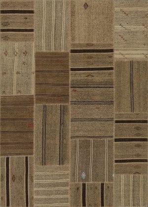 Vloerkleed Patch Collection - 6 - 314 Nieuw - Handgeweven Patchwork-tapijt. Samenstelling: 50% geiten wol + 50% katoen. Rug (gelijmd en genaaid): 100% katoen. Indien niet in voorraad is de levertijd circa 5 weken. Maatwerk mogelijk.