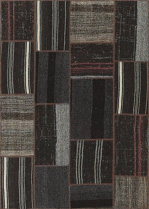 Vloerkleed Patch Collection - 9 - 009 Nieuw - Handgeweven Patchwork-tapijt. Samenstelling: 100% wol. Rug (gelijmd en genaaid): 100% katoen. Indien niet in voorraad is de levertijd circa 5 weken. Maatwerk mogelijk.