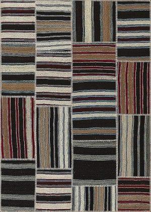 Vloerkleed Patch Collection - 9 - 010 Nieuw - Handgeweven Patchwork-tapijt. Samenstelling: 100% wol. Rug (gelijmd en genaaid): 100% katoen. Indien niet in voorraad is de levertijd circa 5 weken. Maatwerk mogelijk.