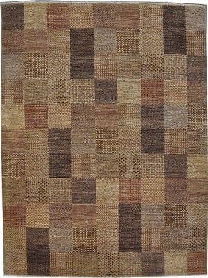 Vloerkleed Shalimar Patch Sh 49871 - Exclusief Janssens Oriënt design. Handgesponnen wol en vaste kwaliteit.