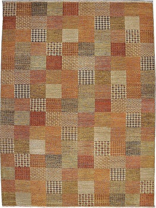 Vloerkleed Shalimar Patch 49364 - Exclusief Janssens Oriënt design. Handgesponnen wol en vaste kwaliteit.