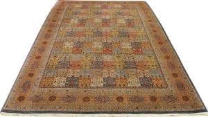 Vloerkleed Tabriz Tuin 2826 - Sprankelende kleuren zijn kenmerkend voor dit exemplaar.
