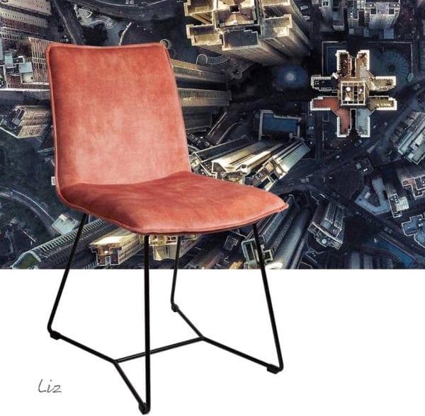 Liz eetstoel van Just Design, eigenzinnig modern en een beetje retro!
