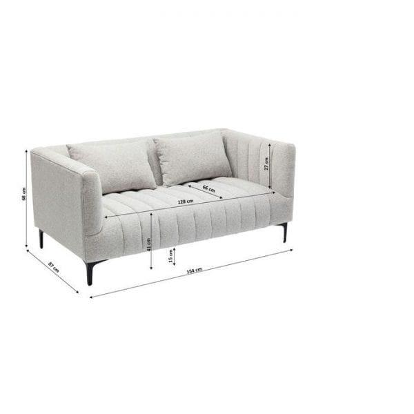Kare Design 2-Seater Celebrate S&P bank 84213 - Lowik Meubelen