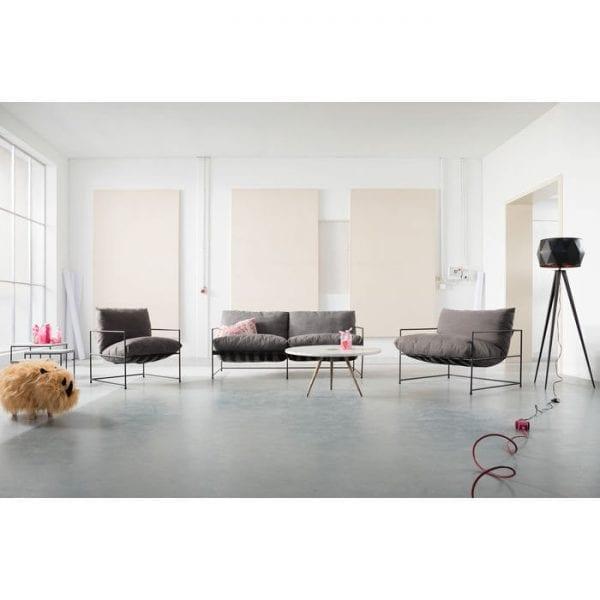 Kare Design Cornwall 2-Seater bank 83119 - Lowik Meubelen