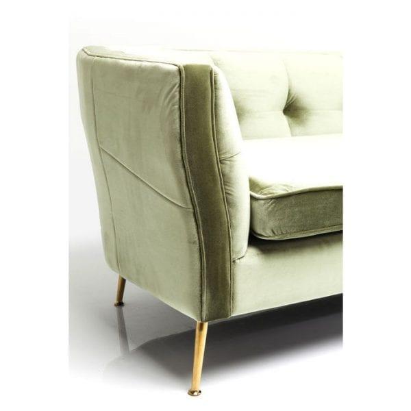 Kare Design Rimini Green 2-Seater 160cm bank 83318 - Lowik Meubelen